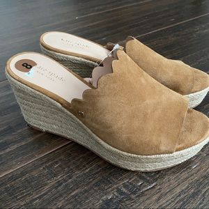 Kate Spade of New York Women's Toby Wedge New 8